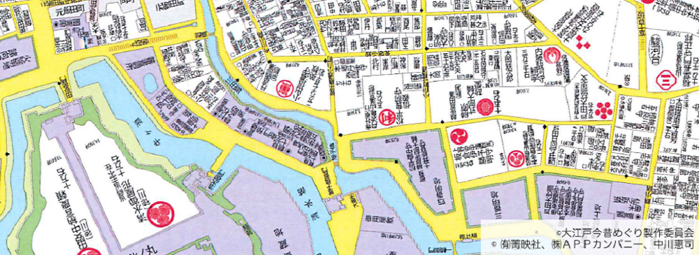 フジテレビ、古地図を活用したスマホアプリ「大江戸今昔めぐり」をリリース