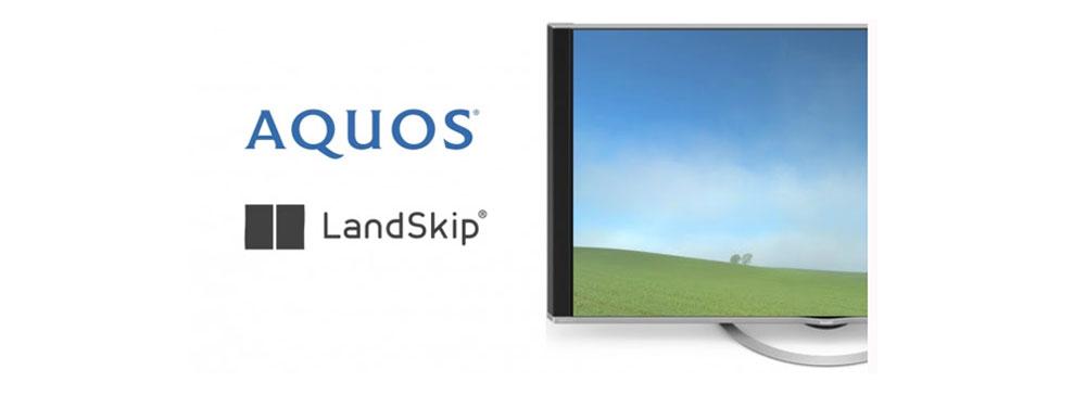 テレビを窓に変える!? LandSkip、シャープ「AQUOS 4K」に風景配信