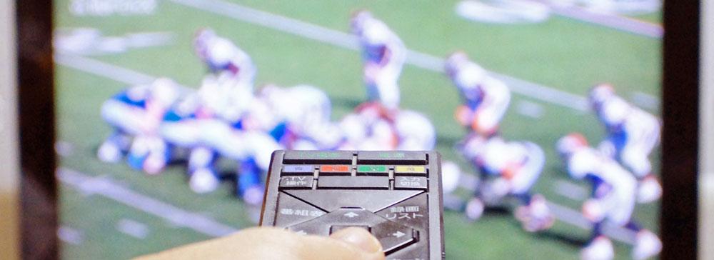 米国、テレビライブ視聴の上位100番組中86番組がスポーツ関連番組
