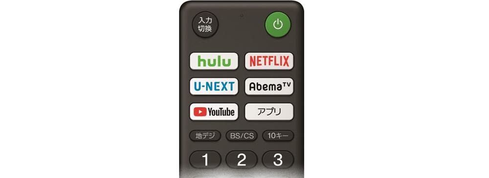ソニー、新「BRAVIA」にHulu、AbemaTVなどの「インターネット動画ボタン」を採用
