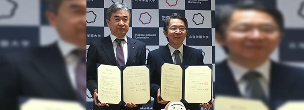 北海道放送(HBC)、北海学園大(HGU )と連携協定を締結