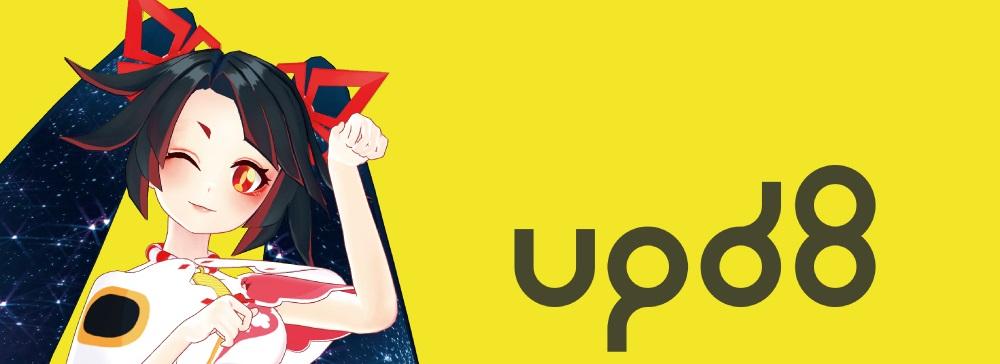 バイリンガルVTuber「キミノミヤ」がバーチャルタレント支援プロジェクト「upd8」に参加