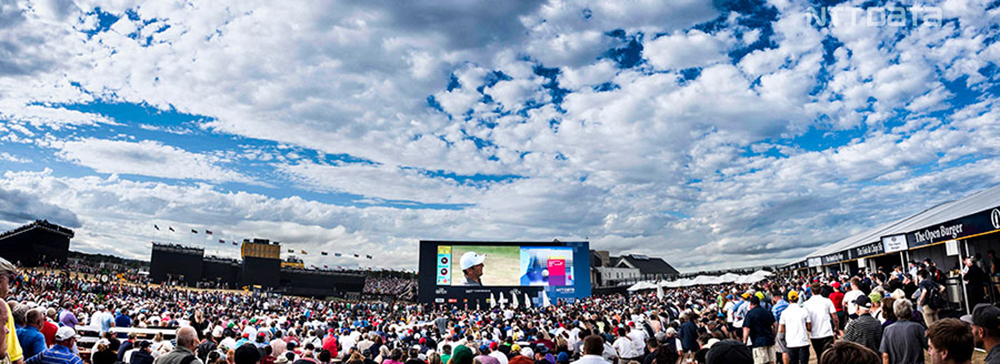 NTTデータ、全英オープンゴルフの映像集をAIで生成