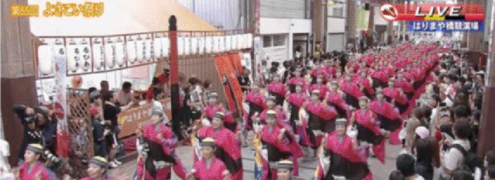 フジテレビ、9時間ぶっ通しのライブ番組『第66回高知よさこい祭りインターネット配信』FNN.jpプライムオンラインで提供