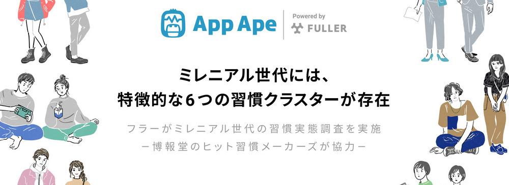 フラー、アプリ利用データから見る「ミレニアル世代」の習慣実態調査を実施