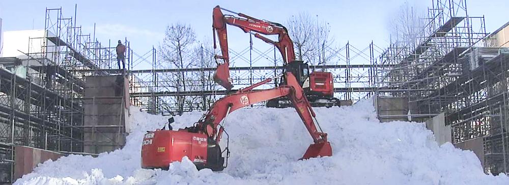 STV「さっぽろ雪まつり」雪像制作開始時からイベント会期終了まで24時間ライブ配信