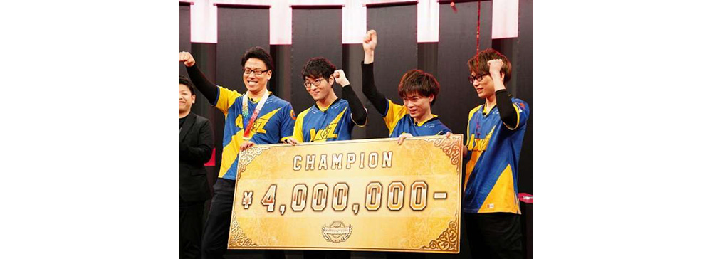 日本テレ傘下のプロeスポーツチーム「AXIZ」がシーズン初優勝 年間王者決定戦に出場決定